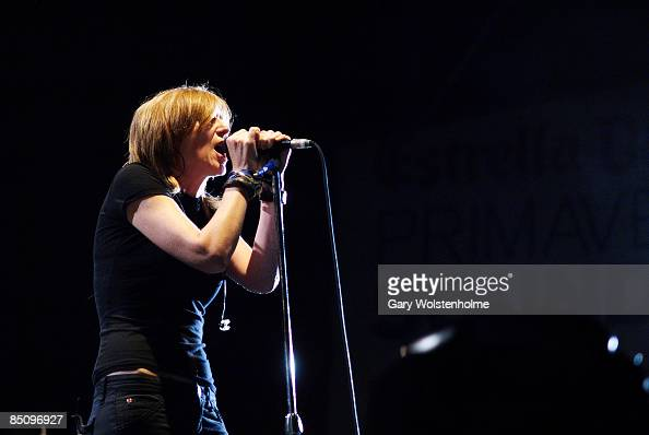 SOUND Photo of PORTISHEAD and Beth GIBBONS Beth Gibbons performing on stage