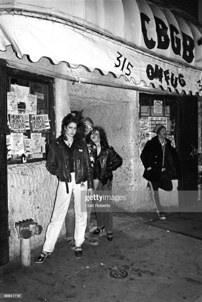 S Photo of PUNKS, Punks outside CBGB's