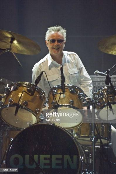Roger Meddows Taylor Drummer Queen Stock Photos and ...