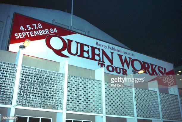 ARENA Photo of QUEEN Billboard advertising Queen Works Tour