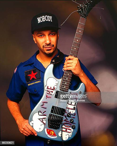 Photo of RAGE AGAINST THE MACHINE Tom Morello