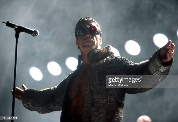 Photo of RAMMSTEIN Big Day Out 28th January 2001 Melbourne Australia Rammstein