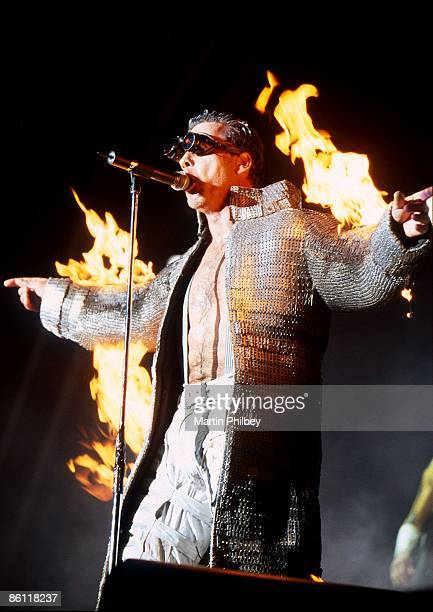 Photo of RAMMSTEIN Big Day Out 28th January 2001 Rammstein Melbourne Australia
