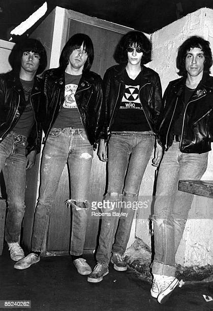 Photo of RAMONES The Ramones at CBGB