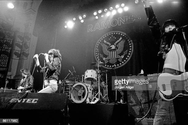 Photo of RAMONES The Ramones September 1980 Copenhagen Denmark