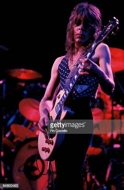 Photo of Randy RHOADS performing live onstage with Ozzy Osbourne