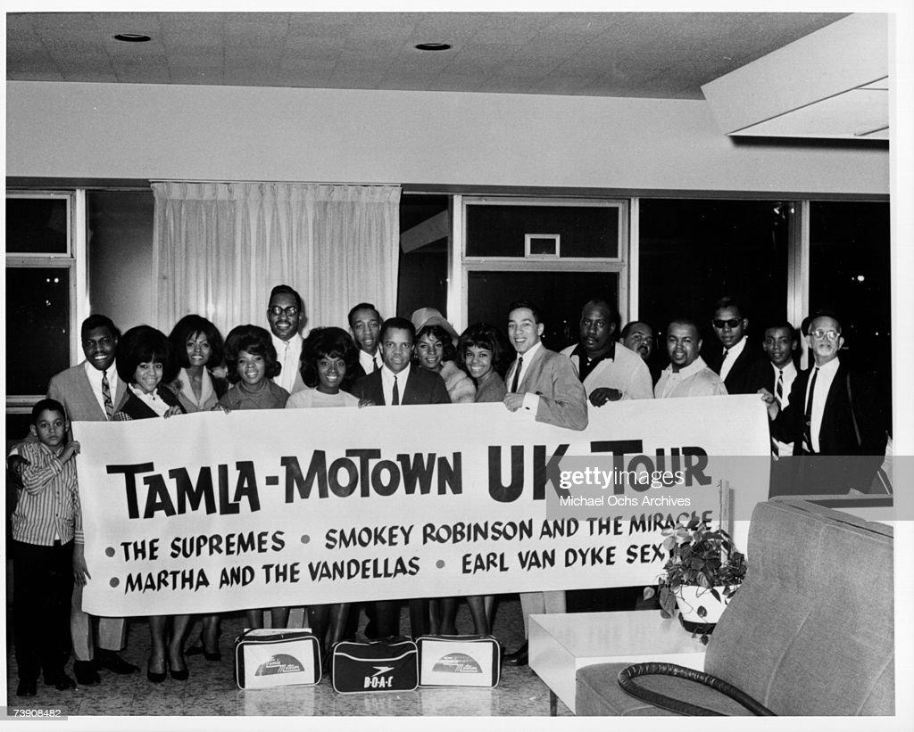 Photo of Record Companies Motown circa mid 1960s
