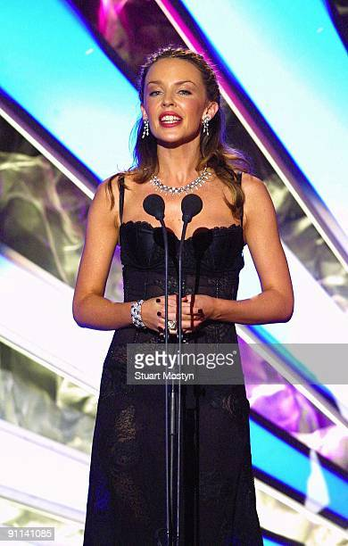 AWARDS Photo of REF 54281 Kylie Minogue receives award for best selling Australian Artist at the World Music Awards Monte Carlo
