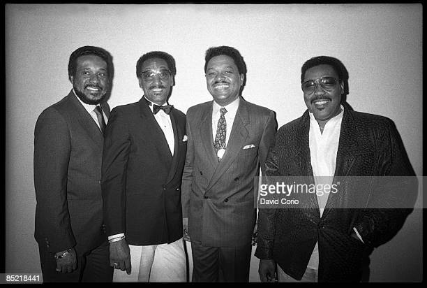 LIMELIGHT Photo of Renaldo BENSON and Levi STUBBS and FOUR TOPS and Abdul FAKIR and Lawrence PAYTON LR Levi Stubbs Abdul 'Duke' Fakir Renaldo 'Obie'...