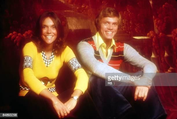 Photo of Richard CARPENTER and Karen CARPENTER and CARPENTERS Posed portrait of Karen and Richard Carpenter