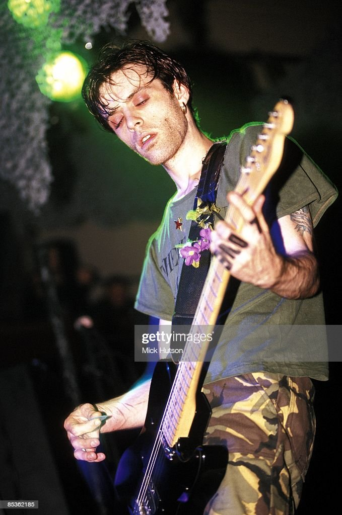 Photo of Richey EDWARDS and MANIC STREET PREACHERS; <a gi-track='captionPersonalityLinkClicked' href=/galleries/search?phrase=Richey+Edwards&family=editorial&specificpeople=4893061 ng-click='$event.stopPropagation()'>Richey Edwards</a> performing live onstage