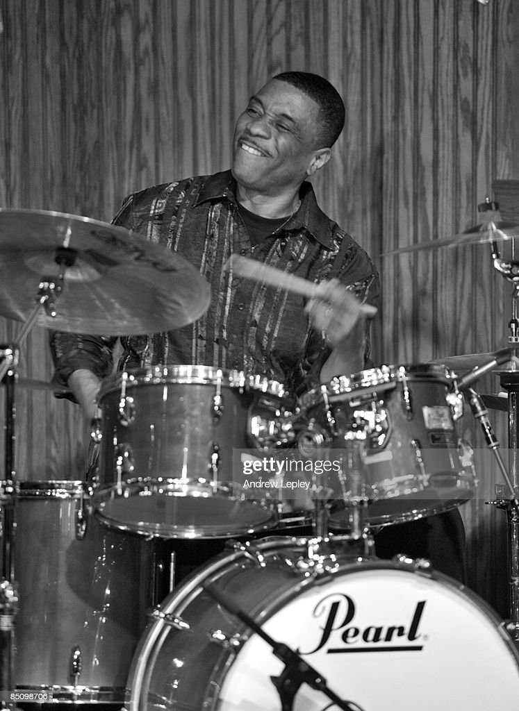 FESTIVAL Photo of Ricky LAWSON, Drummer Ricky Lawson performing on stage