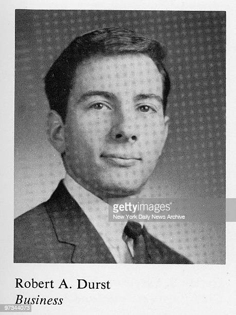 Photo of Robert Durst taken from Lehigh University Yearbook 1965