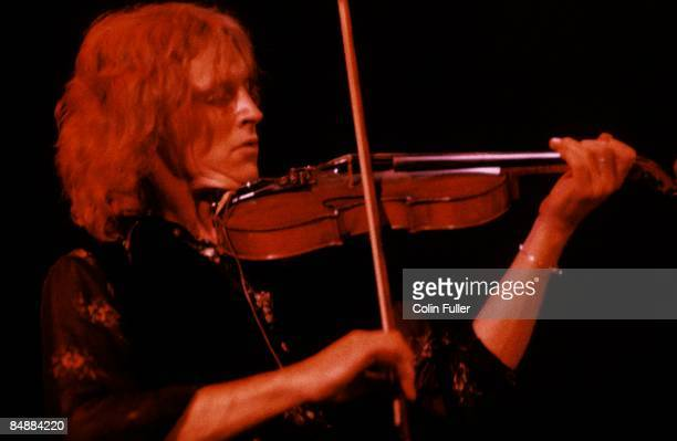 FESTIVAL Photo of Robin WILLIAMSON and INCREDIBLE STRING BAND Robin Williamson performing live onstage playing violin