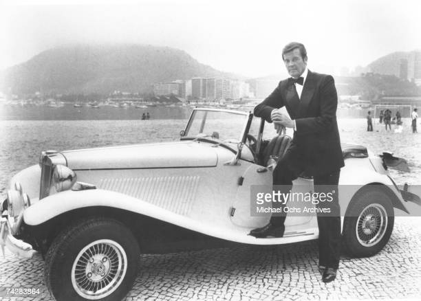 Photo of Roger Moore Photo by Michael Ochs Archives/Getty Images