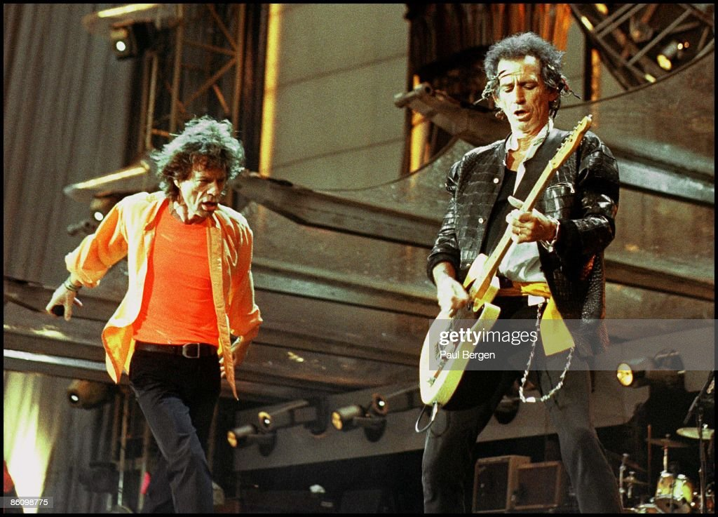 Photo of ROLLING STONES; 2-6-99 Groningen,Renbaan, The Rolling Stones, <a gi-track='captionPersonalityLinkClicked' href=/galleries/search?phrase=Mick+Jagger&family=editorial&specificpeople=201786 ng-click='$event.stopPropagation()'>Mick Jagger</a> en <a gi-track='captionPersonalityLinkClicked' href=/galleries/search?phrase=Keith+Richards+-+Musician&family=editorial&specificpeople=202882 ng-click='$event.stopPropagation()'>Keith Richards</a>