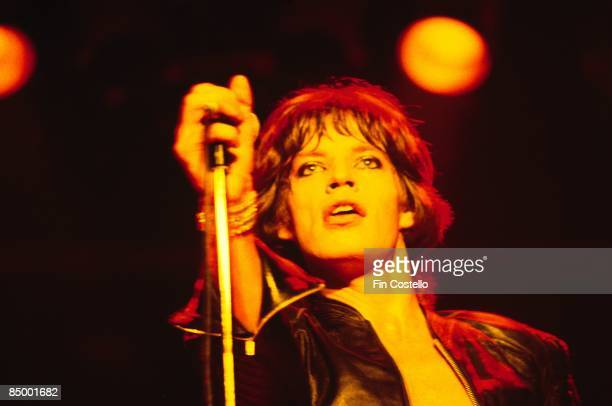 Photo of ROLLING STONES and Mick JAGGER of Rolling Stones performing live onstage at Manchester BelleVue