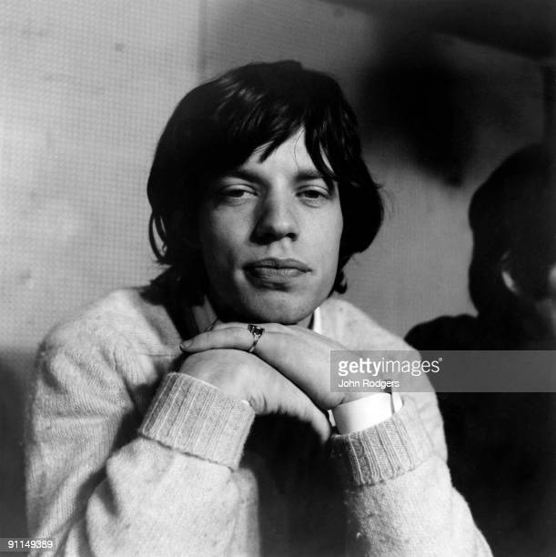 Photo of ROLLING STONES and Mick JAGGER Posed portrait of Mick Jagger