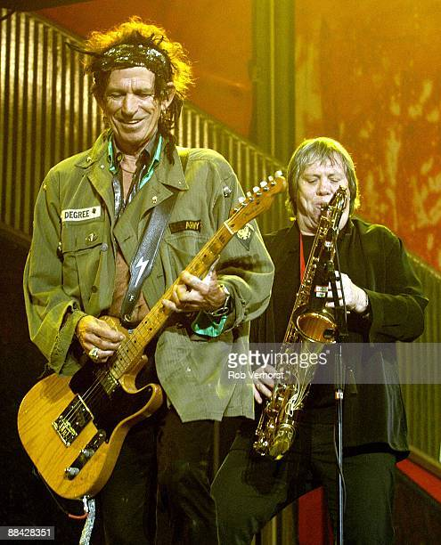 Photo of ROLLING STONES Rolling Stones ArenA Amsterdam Keith Richards Bobby Keys