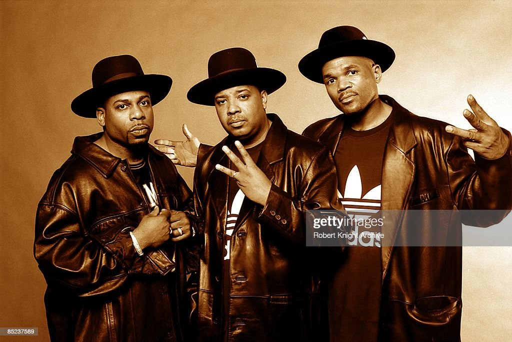 Photo of RUN DMC; Jam Master Jay LHS