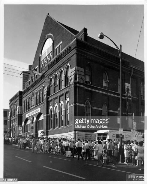 Photo of Ryman Auditorium