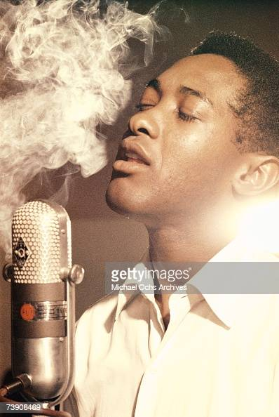 Photo of Sam Cooke 1959 California Los Angeles RCA Recording Studio Sam Cooke