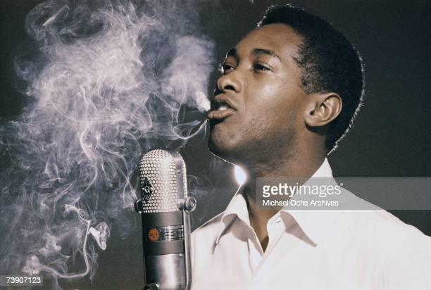 Photo of Sam Cooke California Los Angeles RCA Recording Studio Sam Cooke