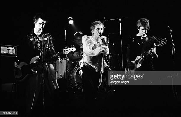 Photo of SEX PISTOLS ID# SexPi 05 Sex Pistols Copenhagen July 13 1977 STRICTLY