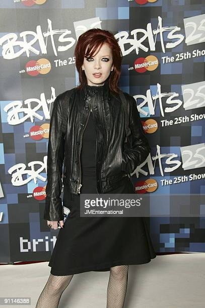 COURT Photo of Shirley MANSON and GARBAGE Shirley Manson