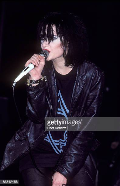 Photo of SIOUXSIE AND THE BANSHEES and SIOUXSIE The Banshees Siouxsie of Siouxsie and The Banshees performing at Palladium in New York City on...