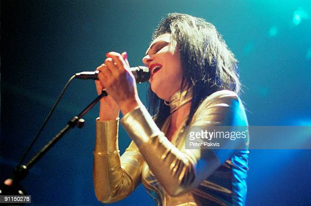 Photo of Siouxsie SIOUX Siouxsie Sioux performing on stage at the De Max Melkweg in Amsterdam