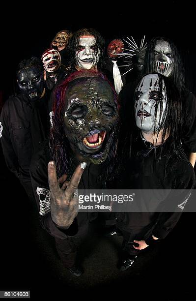 OUT Photo of SLIPKNOT posed at festival