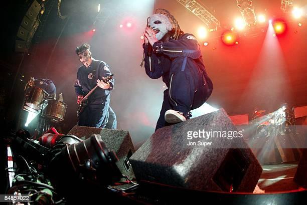 Photo of Slipknot Slipknot play the Manchester Apollo 2002