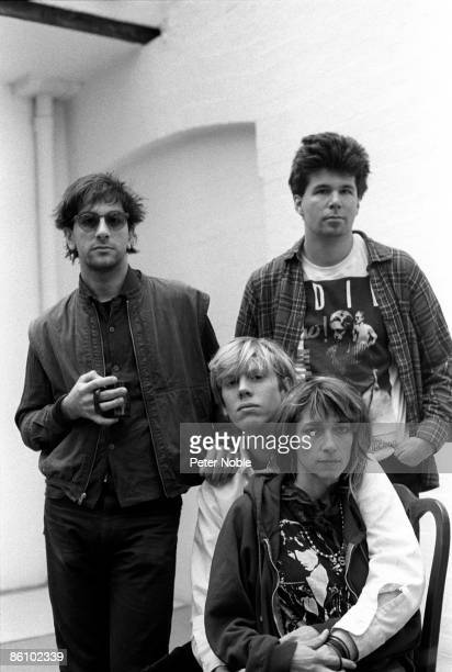 Photo of SONIC YOUTH 1984