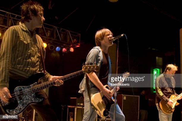 Photo of SOUL ASYLUM Tommy Stinson Dave Pirner Dan Murphy at the Voodoo Music Experience on Beale at WC Handy Park