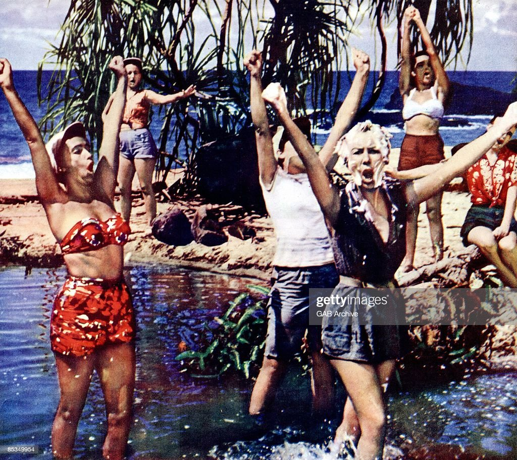 Photo of SOUTH PACIFIC 'I'm gonna wash that man right out of my hair' scene the film 'South Pacific'