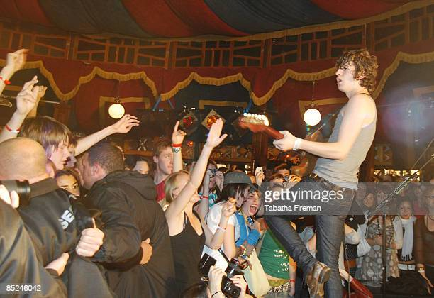 Photo of Spiegel Tent Brighton Luke Pritchard of The Kooks performs live at Spiegel Tent as the Headline Act at the Great Escape Festival Brighton on...