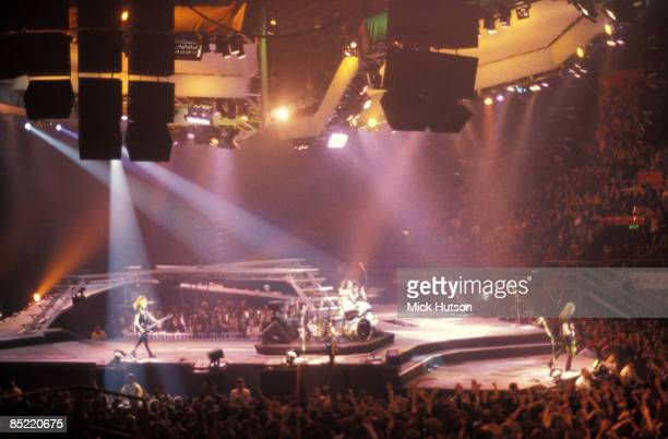 ARENA Photo of STAGE and CONCERT and GIG and METALLICA performing live onstage shwoi8ng stage and crowds