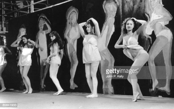 STUDIO 54 Photo of STUDIO 54 dancers on stage in club circa 1975