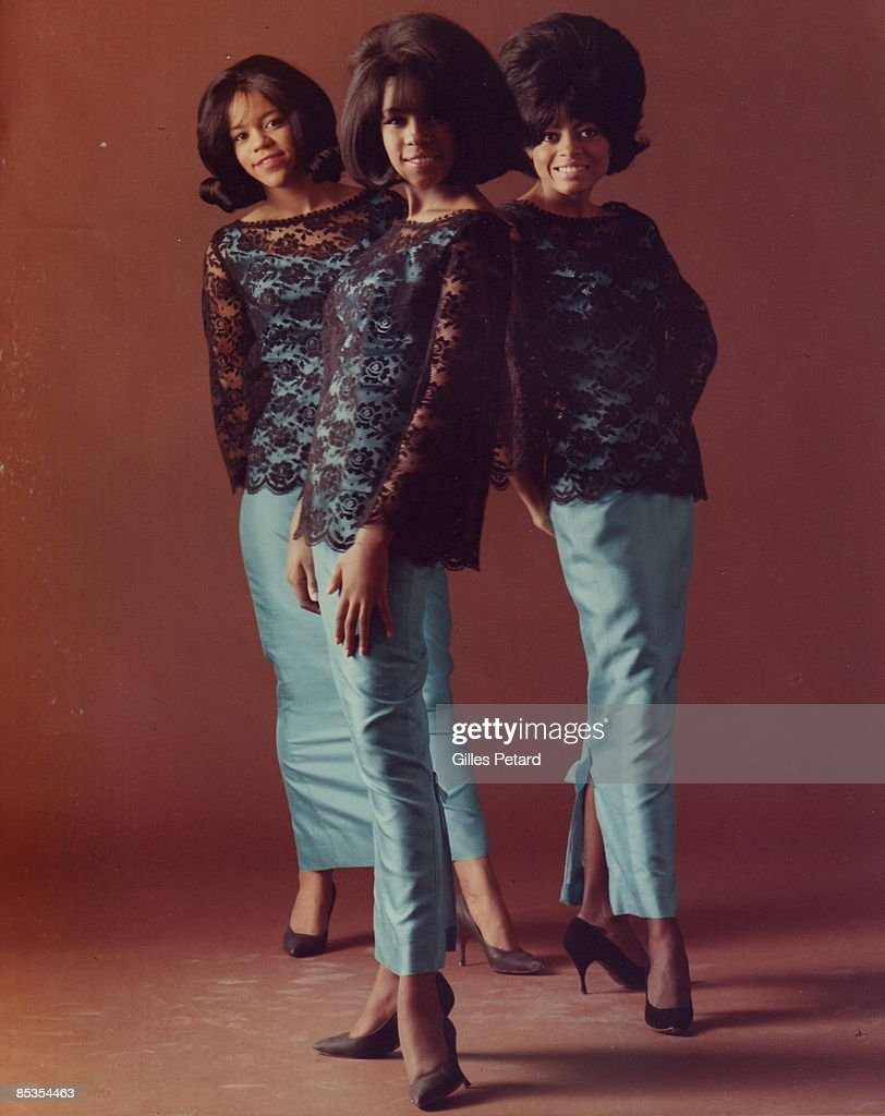 Photo of SUPREMES The Supremes Gilles PTtard Collection Florence Ballard Mary Wilson and Diana Ross