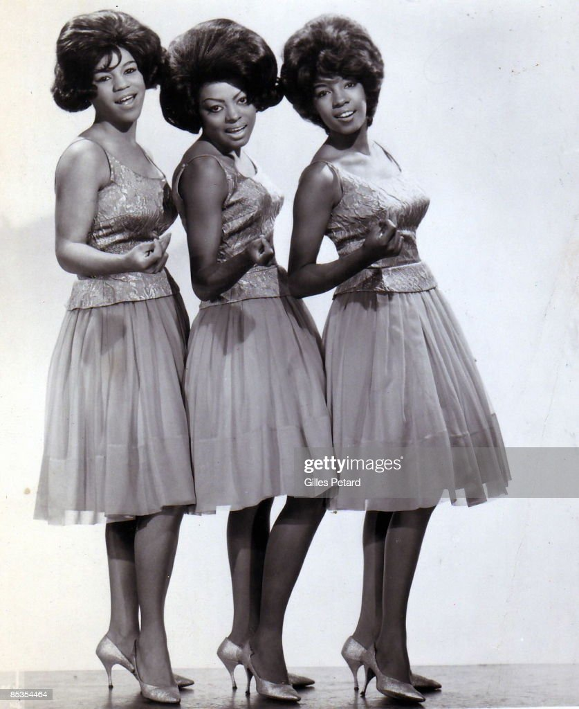 Photo of SUPREMES The Supremes Gilles PTtard Collection Florence Ballard Diana Ross and Mary Wilson