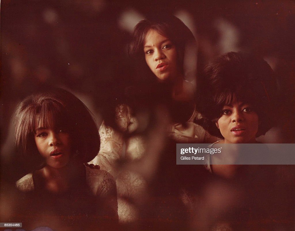 Photo of SUPREMES The Supremes Gilles PTtard Collection Mary Wilson Florence Ballard and Diana Ross