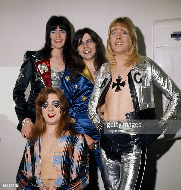 POPS Photo of SWEET The Sweet 1973 in the dressing room at BBC studios London just before performing at Top of The Pops the day Sweet got to nr 1...