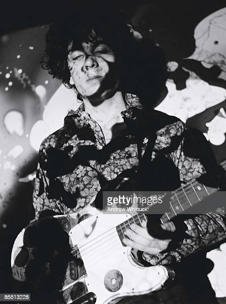CLUB Photo of Syd BARRETT and PINK FLOYD Syd Barrett performing live onstage playing Fender Esquire guitar