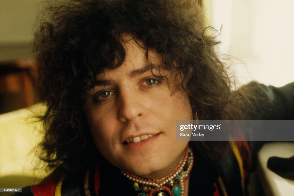 Photo of T REX and Marc BOLAN; Posed portrait of Marc Bolan
