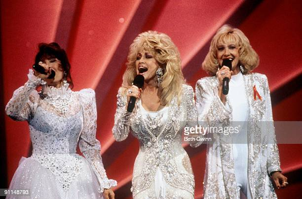 NASHVILLE Photo of Tammy WYNETTE and Loretta LYNN and Dolly PARTON Loretta Lynn Dolly Parton Tammy Wynette