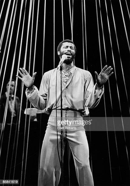 HALL Photo of Teddy PENDERGRASS Teddy Pendergrass performing on stage