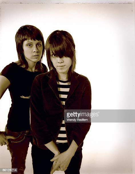 Photo of Tegan Sara Tegan Sara photographed in Los Angeles CA 2005