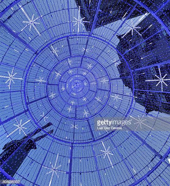 photo of the inside of a Christmas tree at Vigo