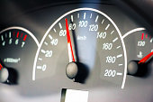 Photo of the speedometer for the background
